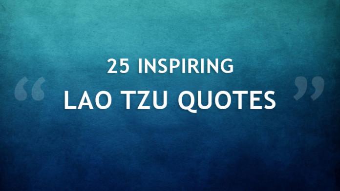 Inspiring Lao Tzu Quotes