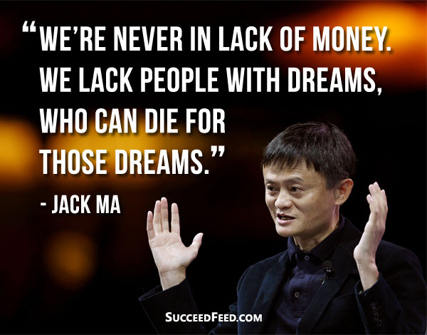 Image result for lack of money, jack ma