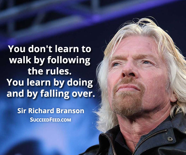 Bedwelming 99 Richard Branson Quotes About Business, Life & Success - Succeed #RF09