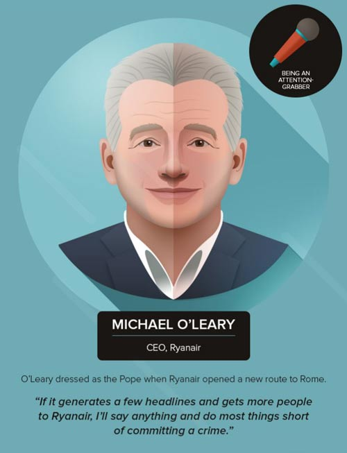 Michael O'Leary's Advice