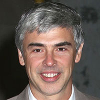 Larry Page - Dropped out of college to co-found Google