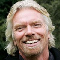 Richard Branson - High School dropout