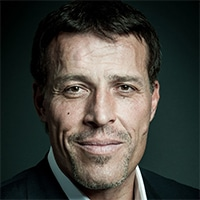 Tony Robbins - Didn't get a college education